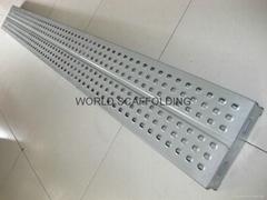 Anti-Skiing Galvanized Steel Plank