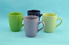10OZ pure glaze ceramic mugs