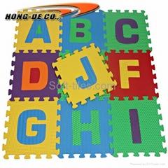 High Quality Alphabet mat number mat