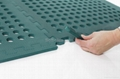 BLACK 60*60cm holes foam eva square rubber interlocking jigsaw Outdoor Jigsaw ma 4