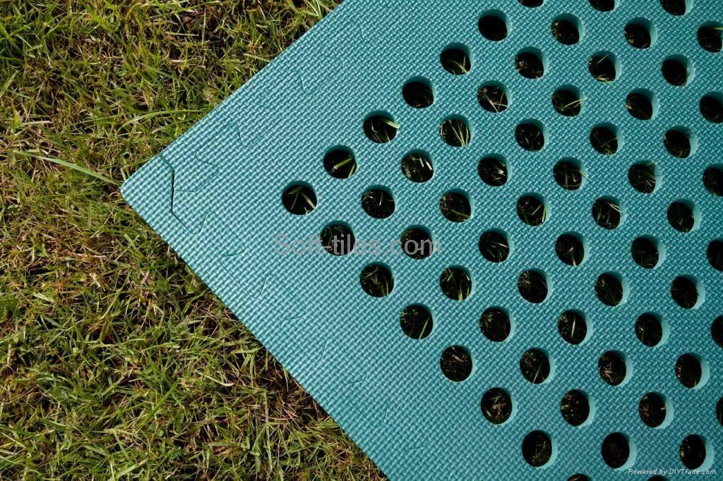 Outdoor FLOORING TILES BLACK 6060cm camping playing kids adults