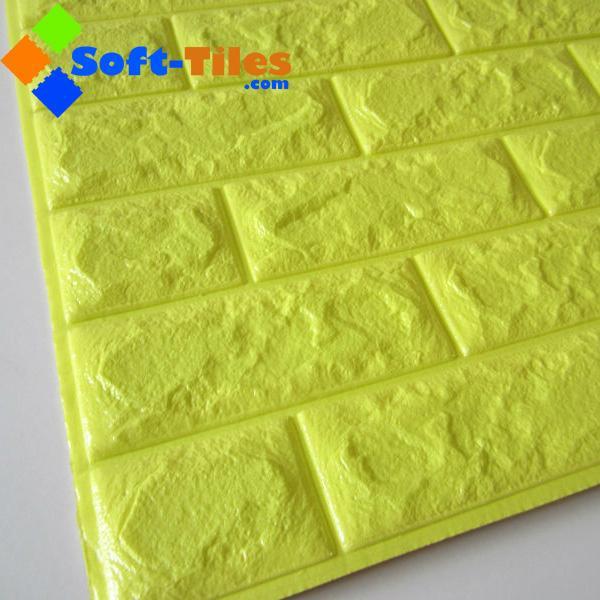 3D Brick Thicken Soft PE Foam Wall Sticker Panels Wallpaper Decor Stone Marble c 4