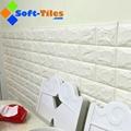 3D Brick Thicken Soft PE Foam Wall Sticker Panels Wallpaper Decor Stone Marble c 5