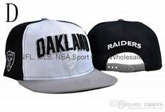 USA NFL National Football Cap Raiders Snapback Adjustable Soccer Hat