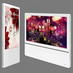 19″~ 24″ digital LCD advertising display player Split Screen wall mounting