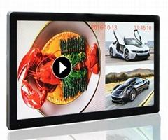 19″~ 65″ Full size digital LED LCD advertising display player Split Screen wall