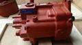 KYB PSVL-54CG hydraulic pump for Kubota U50-3A 2