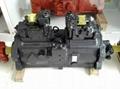 K3V112DT kawasaki hydraulic pump,samsung Kobelco excavator hydraulic pump 4