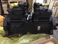K3V112DT kawasaki hydraulic pump,samsung Kobelco excavator hydraulic pump 3