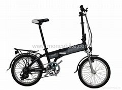 Electric Folding Bike with the Lithium Battery Inside Frame