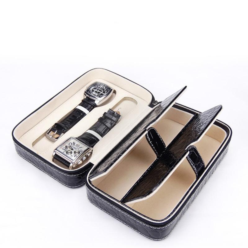 两支装PU皮革高档手表包装盒  3