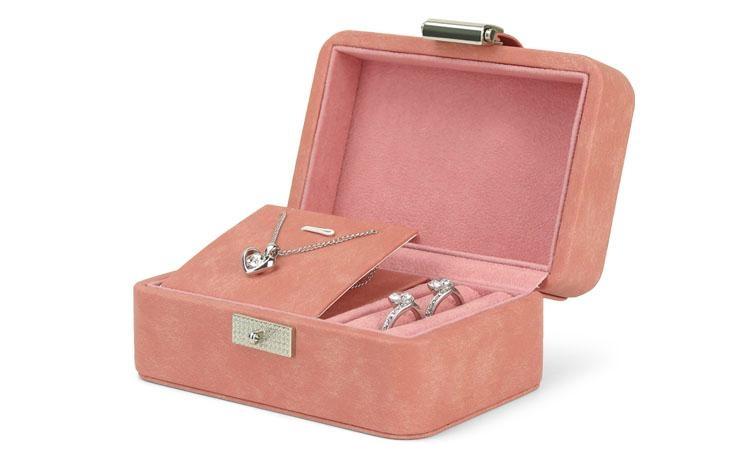 珠寶首飾項鏈木質PU收納盒 2