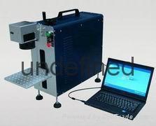 供应便携式光纤激光打标机 1