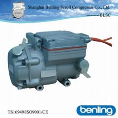 DM18A1 312v dc inverter scroll compressor of CE certificate car air conditioning