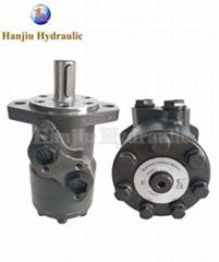 2 Bolt Orbital Hydraulic Motor BMP , Small Volume Low Speed High Torque Motor