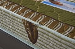 廠家直供酒店床墊臥室雙人1.8米床墊壓縮床墊出口定製  可訂做