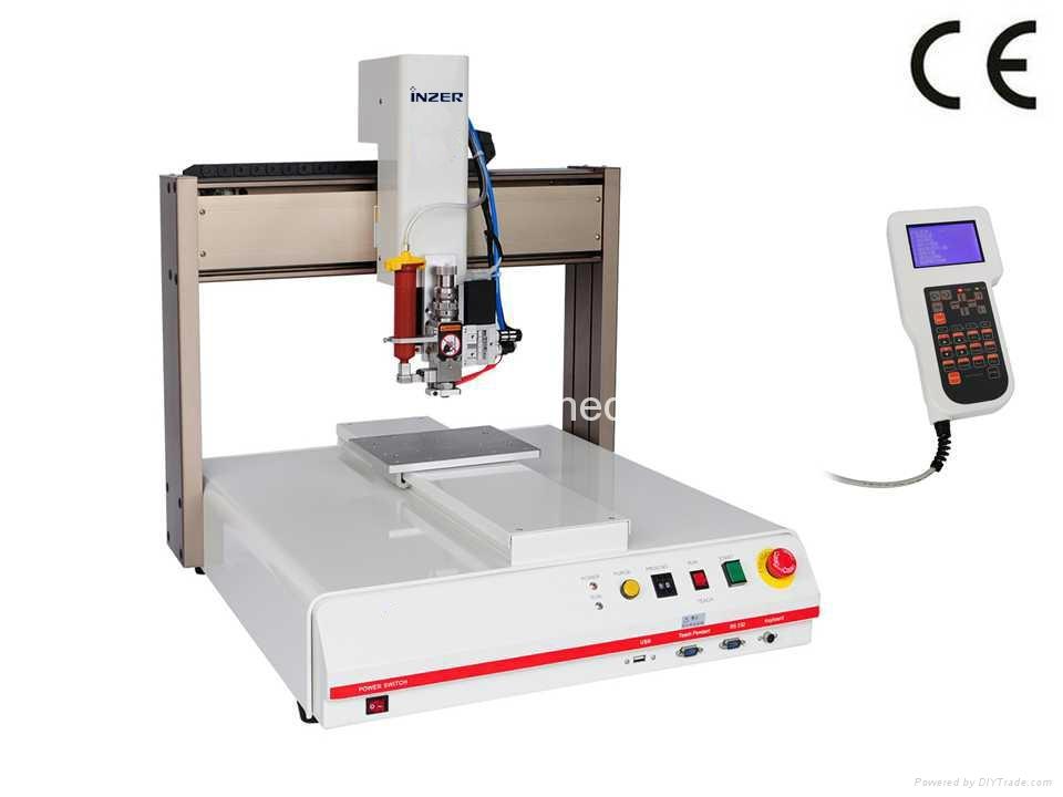 自动乳白色硅胶涂胶机 1