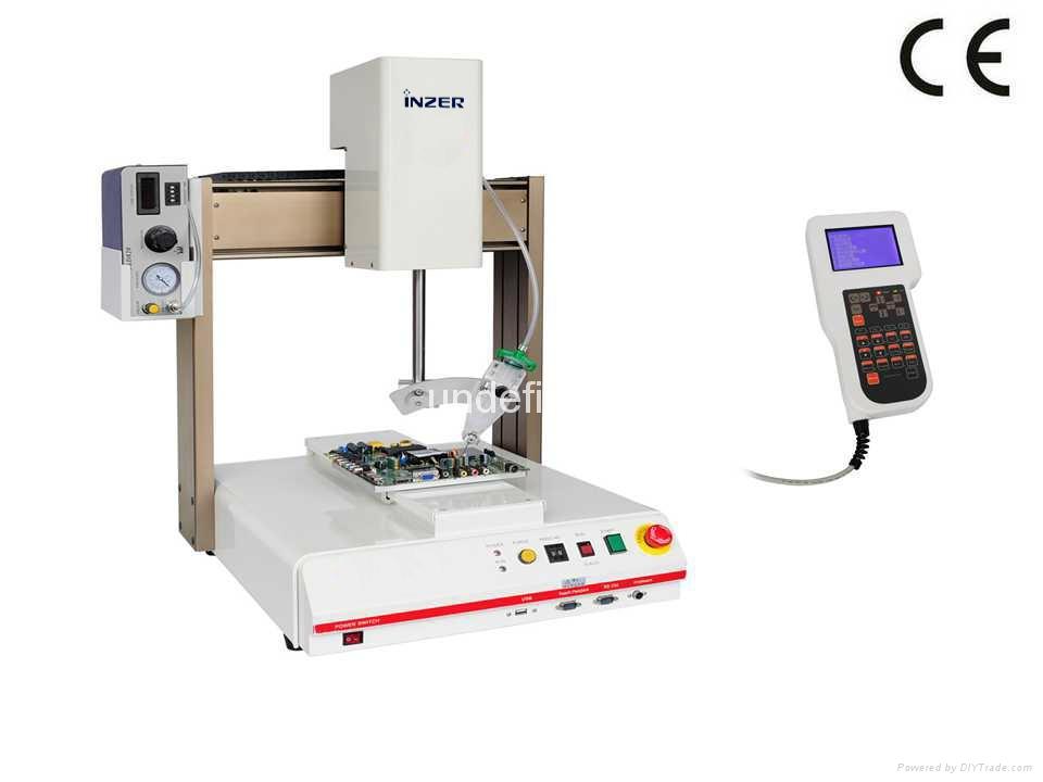 自动乳白色硅胶涂胶机 4