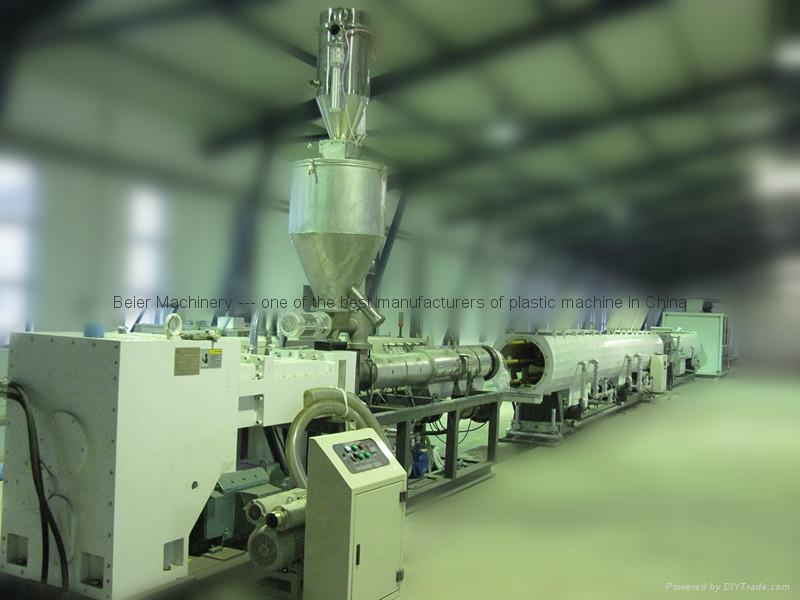PVC pipe extrusion line(pipe making machine) 1