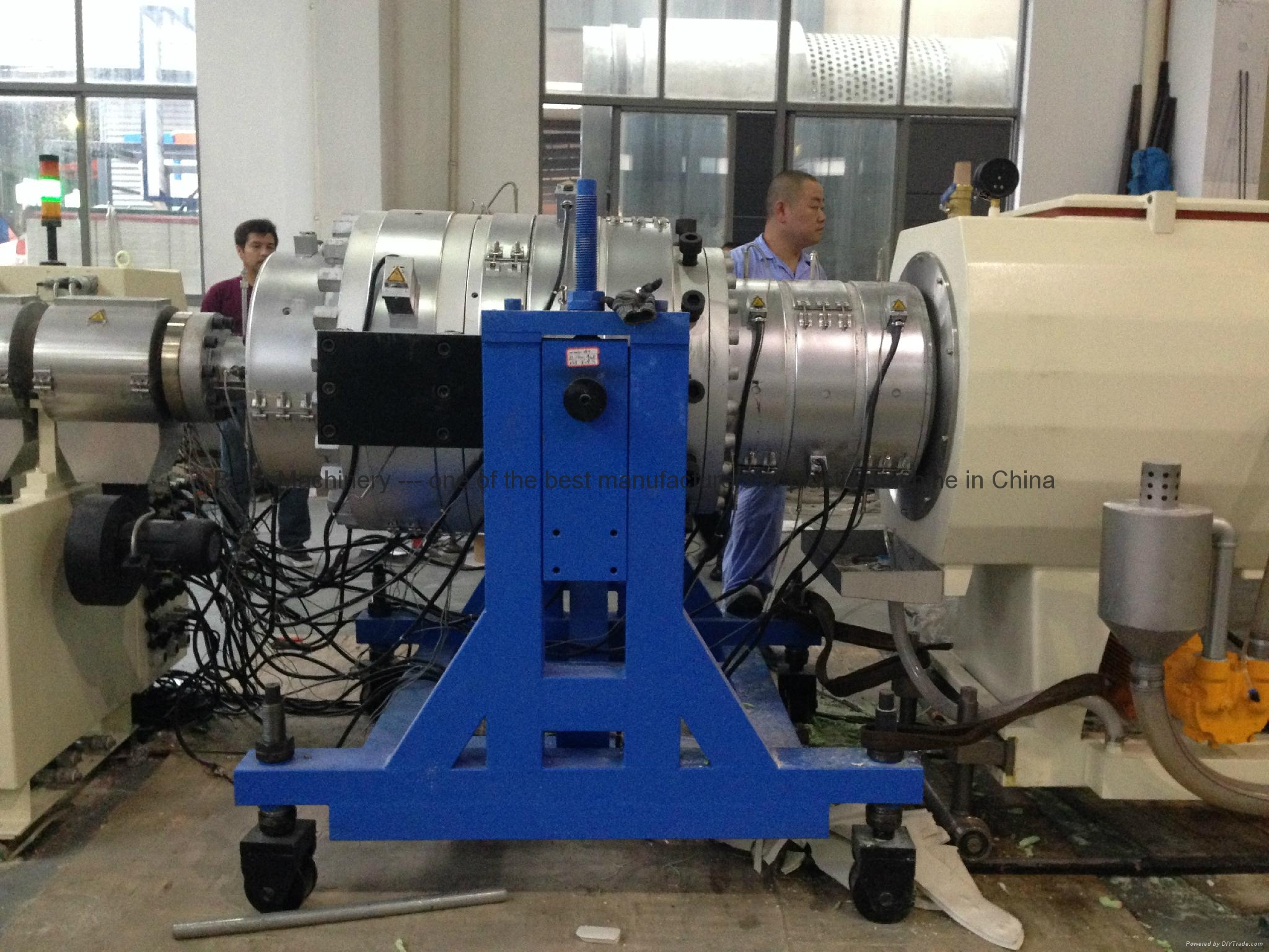 PVC pipe extrusion line(pipe making machine) 4