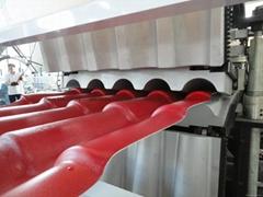 PVC Colonial Roofing Tile Extrusion Line(plastic tile production machine)