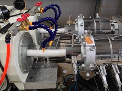 PVC pipe extrusion line(Pipe production