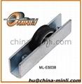 window and door metal aluminium pulley