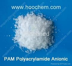 Anionic Polyacrylamide flocculant crystal
