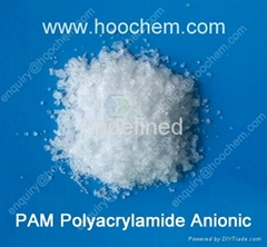 Anionic Polyacrylamide flocculant crystal for water treatment
