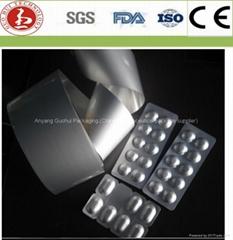 Tropical blister foil for pharmaceutical package