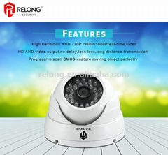 1.3MP 960P waterproof 30m IR distance day&night surveillance AHD Dome Camera
