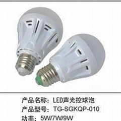 LED聲光控球泡