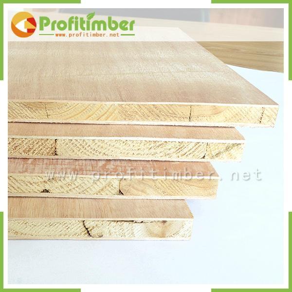 1220*2440mm or Customized Natural Wood Blockboard 2