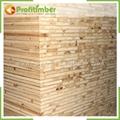 1220*2440mm or Customized Natural Wood Blockboard 3