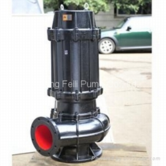 WQ QW submersible sewage water pump for waste water treatment