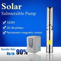solar pump system solar