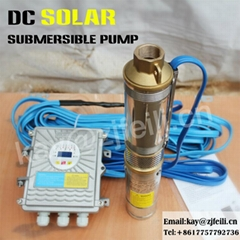 dc solar submersible pump price solar pump water