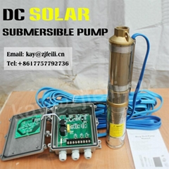 4 brushless dc solar water pump dc deep well for agriculture pumpe solar