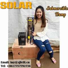 solar pump submersible p
