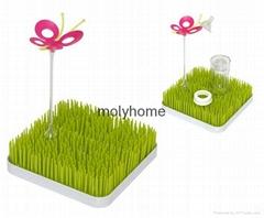 Grass Lawn Feeding Baby Bottle Drying rack