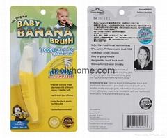 Baby Banana Bendable Toddler Teether