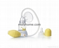 2015 silicone manual breast pump with