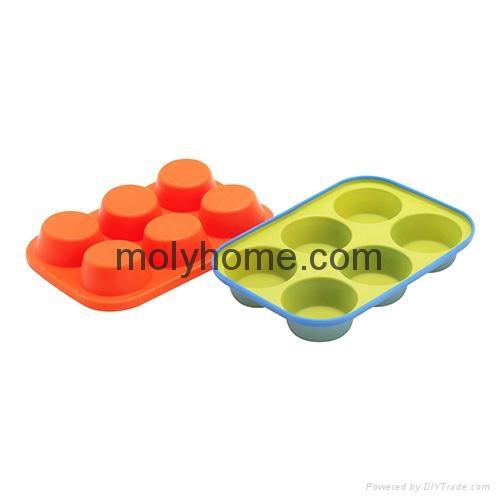 Custom Shape Silicone Ice Cube Tray Chocolate Muffin Mold  1