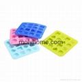 Custom Shape Silicone Ice Cube Tray Chocolate Muffin Mold  4