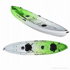 double fishing kayak sit on top with high quality for sale