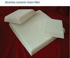 Alumina Ceramic Foam Filter for Molten Aluminum Filtration