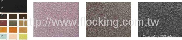 Sumelon Leather(flocking fabric) 1