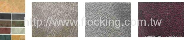 Sumelon Leather(flocking fabric) 5