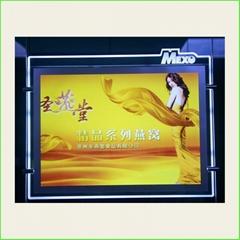 Window Display LED Acrylic Brand Name Posters Frame Light Box