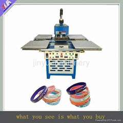 top quality silicone bracelet /wrist strap/wristband making machine